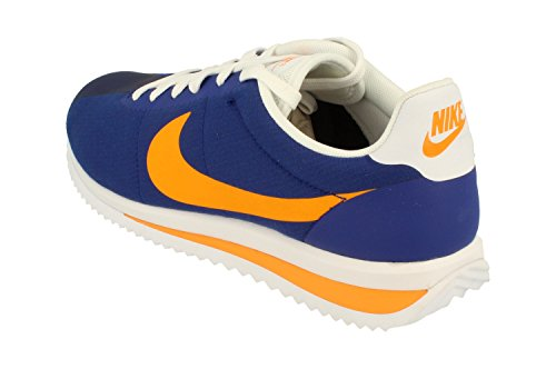 Nike Cortez Ultra Mens Running Trainers 833142 Sneakers Shoes (UK 6 US 7 EU 40, deep Royal Blue Vivid Orange 408)