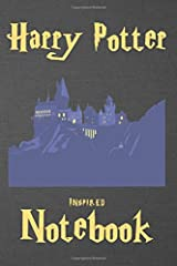 Harry Potter Inspired Notebook: Illustrated with pages for Notes, To Do lists and Contact Details (Unauthorized) Paperback