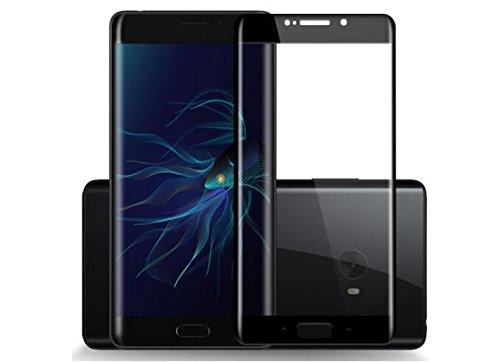 Xiaomi Mi Note 2 (5.7'') templado cristal Protector, Flos templado cristal Protector de pantalla para Xiaomi Mi Note 2 - Negro