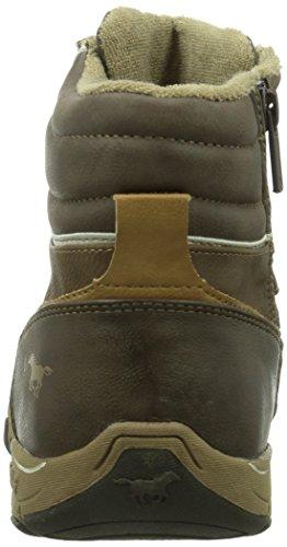 MustangSchnür-Booty - Sneaker uomo Marrone (Braun (32 dunkelbraun))