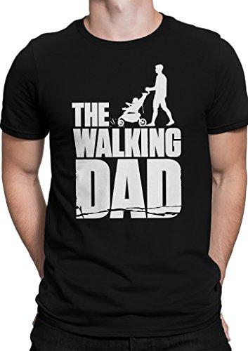 THE WALKING DAD / The Walking Dead Parodie / Größe XS-5XL / Ideales Geschenk / Premium T-Shirt (L, (Walking Dead Uk Kostüme)