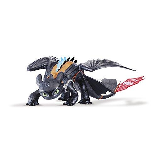 Dragons 6023852 - Action Sdentato Gigante Alpha Edition in Plastica, Nero