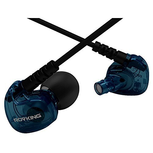 Rovking-V1-Sweatproof-Headphones-In-Ear-Bass-Earpods-With-Remote-And-Mic-Noise-Sound-Isolating-Earbuds-For-Running-Earphones-For-Ipod-Iphone-Samsung-Htc-Blue