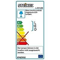 Steinel L 244 LED Outdoor Light, Wall Light, Sensor Light, UV-Resistant Plastic