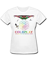 Women's Coldplay A Head Full of Dreams Tour T-Shirt XXXXL