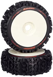 Jamara 54804 - Neumáticos + llantas (escala 01:08, B-Pioneer, duros) importado de Alemania