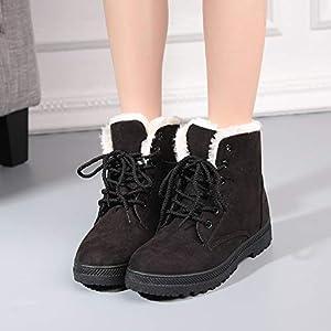 XIGUABOOT Frau Winter Stiefel Warme Winter Baumwolle Schuhe Bequem Unten Schnee Stiefel Schuhe Der Größe Frauen.