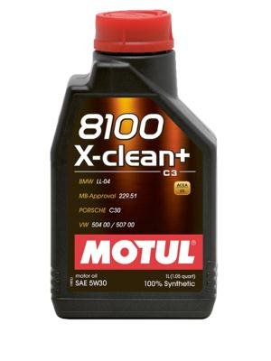Motul 106376 Motoröl 8100 X-Clean+ 5W-30, 1 L