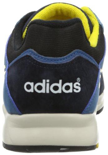 adidas Originals Tech Super D67642 Herren Sneaker Schwarz (BLACK 1 / ELECTRICITY / LEGEND INK S10)