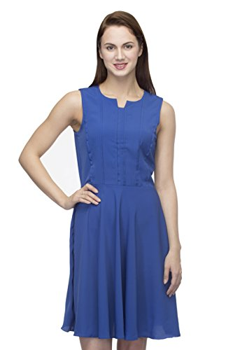 Blue Skater Dress X-Large