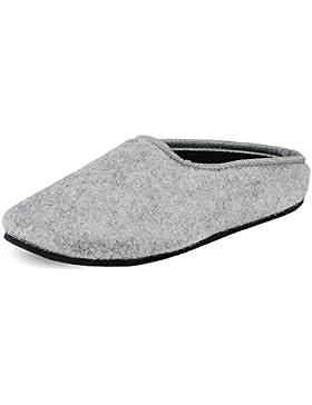 PantOUF Cambrai - Zapatillas de Casa de Fieltro - Mujer/Hombre