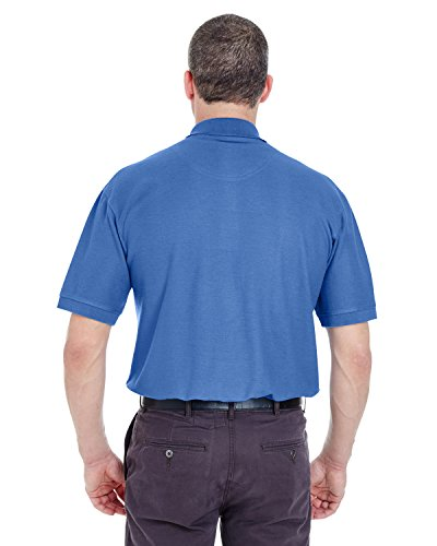 UltraClub Herren Poloshirt Blau (French Blue)