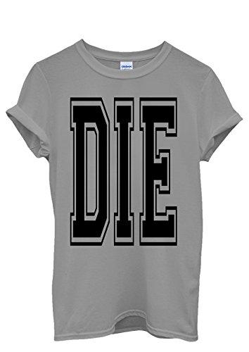 Die Tumblr Blogger Fresh Cool Men Women Damen Herren Unisex Top T Shirt Grau