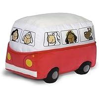 Preisvergleich für Nici 31907 - Sitzkissen Bus 30 x 42 x 30 cm rot