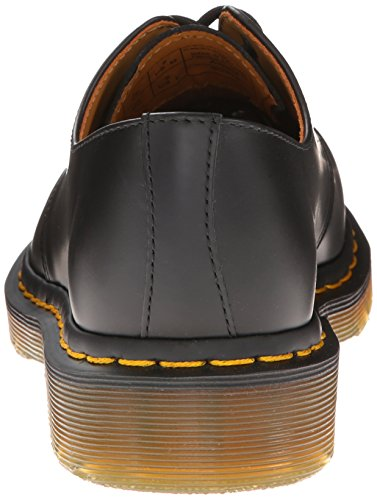 Dr. Martens 1461 59, Unisex Adult Derby Chaussures richelieu à lacets Noir et jaune