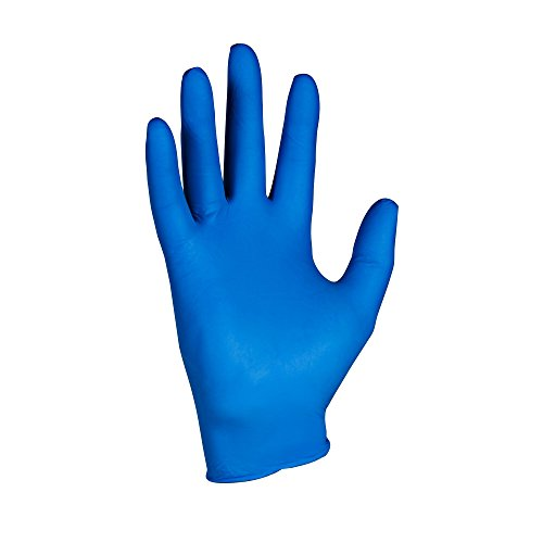 KleenGuard 90096 Safety Gloves, G10, Small, Arctic Blue (Pack of 200)