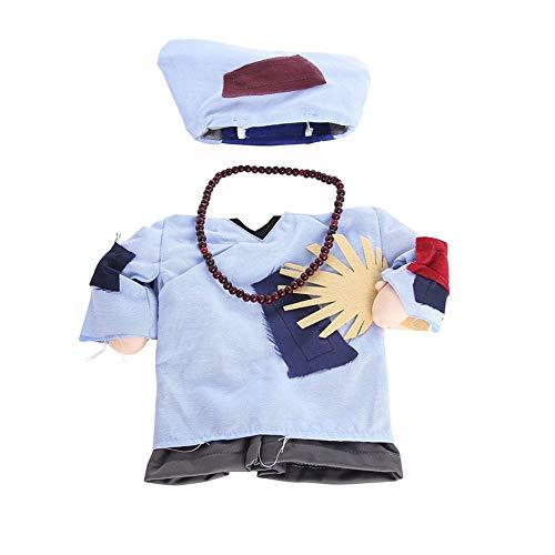 Ewok Outfit Für Hunde - YUnnuopromi Haustierkostüm, Halloween, Welpen, Katzen, Mönchdesign,