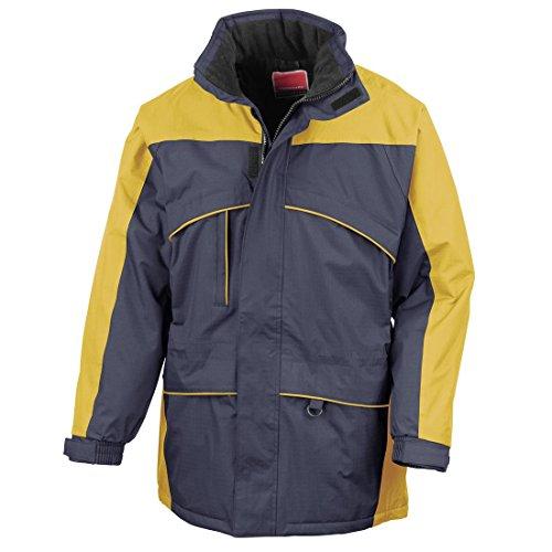 Ergebnis Seneca Midweight Performance Jacket Windproof Hi Tätigkeit Lässige, Top Mehrfarbig - Navy/Yellow