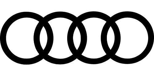 Adesivo vinilico con anelli Audi a1, a2, a3, a4, a5, a6