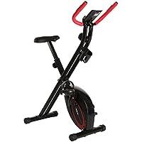 Ultrasport F-Bike, Fahrradtrainer, Heimtrainer, faltbares Fitnessfahrrad, Fitnessbike