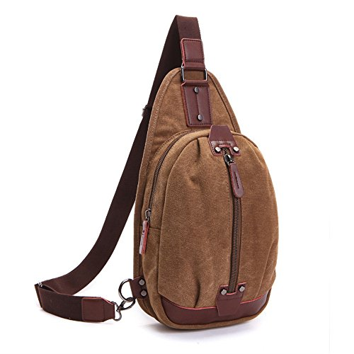 Beatsport, Borsa a tracolla donna marrone Khaki Coffee
