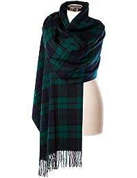 Edinburgh 100% Lambswool Scottish Tartan Multicolor Stole