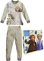 Sabor Pigiama Bambina Estivo Frozen, Pigiama Bambina in Cotone, Pigiama Bambina Lungo Disney Marvel