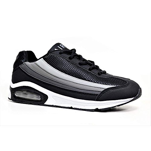 Mens Legacy Air Bubble Max 90 Running Trainers Airtech Fitness Shock Absorbing...