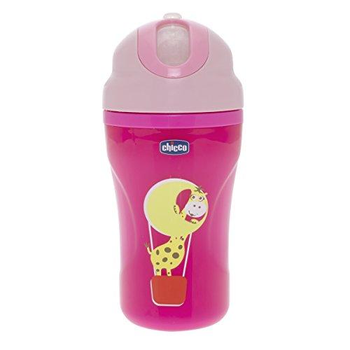 Chicco 00006825120000 Insulated Cup Tazza, Rosa/Blu, 266ml, 18m