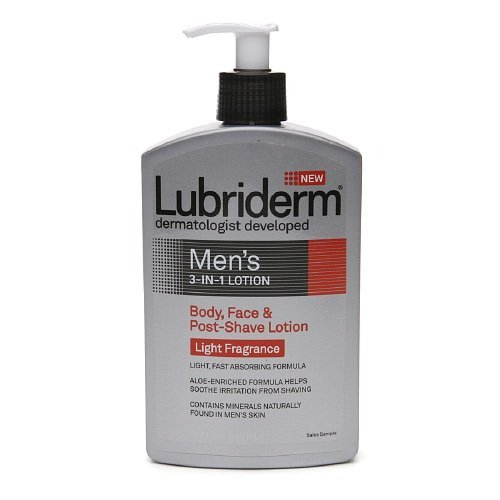 lubriderm-mens-3-in-1-lotion-light-fragrance-16-fl-oz-473-ml-pack-of-3-by-lubriderm