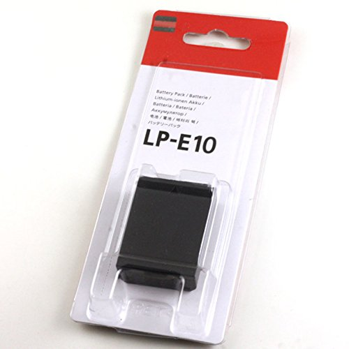 Battery LP E10 LPE10 Batteries For Canon EOS 1100D 1200D Rebel T3 53 Kiss X50 X70  available at amazon for Rs.1100
