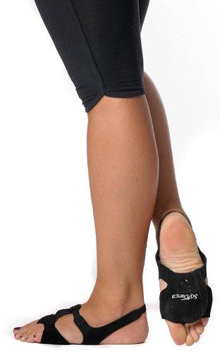 SO DANCA sandale lyrique chaussure semelle basse noir