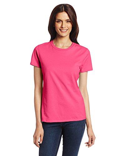 Hanes Damen T-Shirt Wow Pink