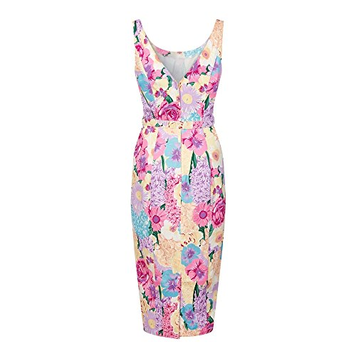 Collectif Vintage - Robe - Femme Multicoloured