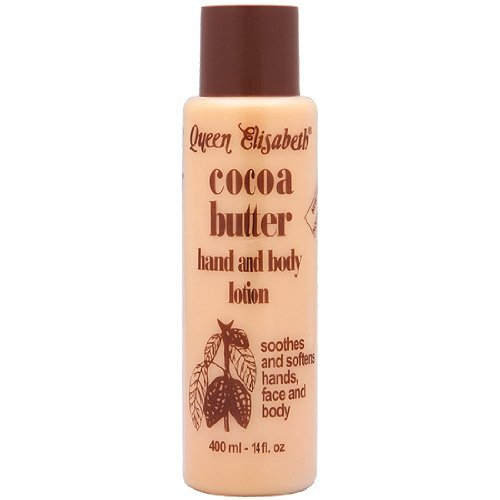 Queen Elizabeth Cocoa Butter Hand and Body Lotion 400ml -