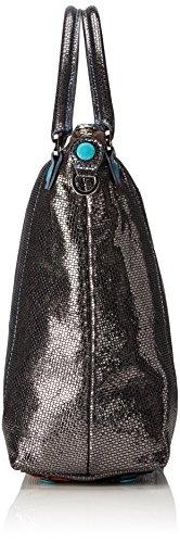 GABS GSAC M JWJW, Borsa a Tracolla Donna Multicolore (Lead Grey)
