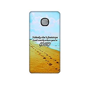 Vibhar printed case back cover for Microsoft Lumia 540 SeaSteps