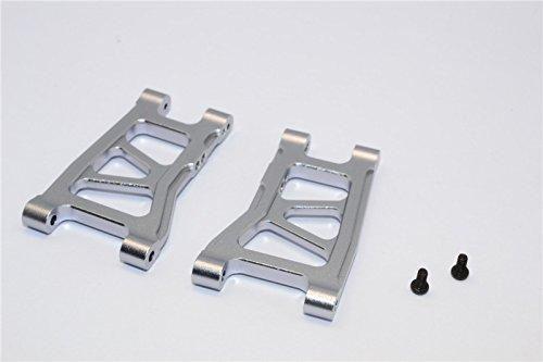 Traxxas LaTrax SST & LaTrax Teton Tuning Teile Aluminium Front/Rear Suspension Arm - 1Pr Grey Silver