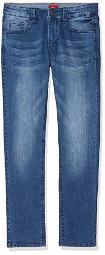 s.Oliver Jungen 62.909.71.3410 Jeans, Blau (Blue Denim Stretch 56z4), 164 (Herstellergröße: 164/SLIM)