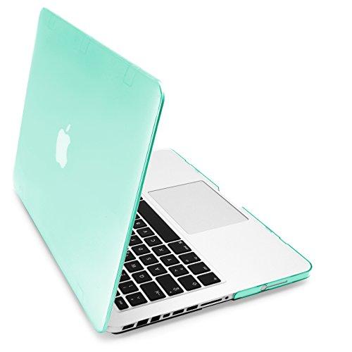 MyGadget Hülle Crystal Clear Case für Apple MacBook Pro 13