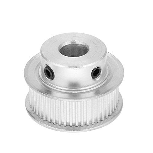 sourcingmap® Aluminium MXL 50 Zähne, 12 mm Bohrung 11 mm Riemen Motorsteuerung Spannrolle synchrone Rad