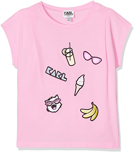 karl-lagerfeld-kid-z15079-t-shirt-fille-rose-rouge-hortensia-10-ans-taille-fabricant-10-ans