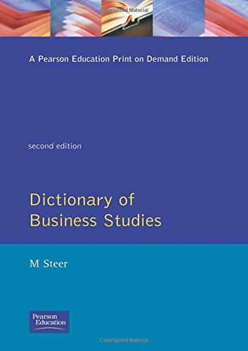 Dictionary of Business Studies