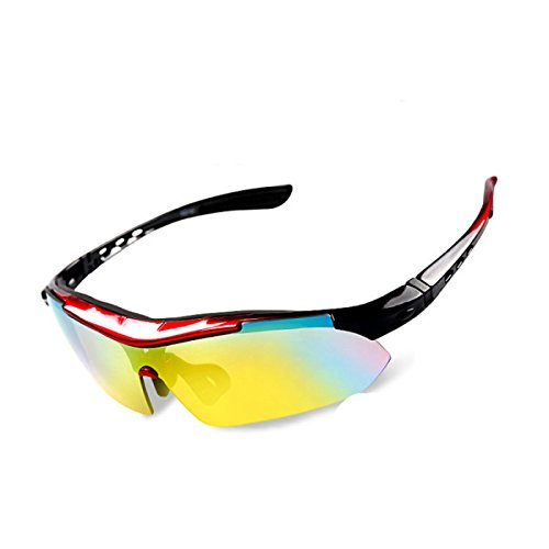 TianXY Männer Outdoor-Reiten Anti-Ultraviolett Polarisierte Gläser Extremsportbrillen,B