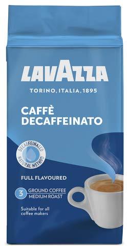Lavazza Caffè Decaffeinato 500g, ganze Bohne, 1er Pack