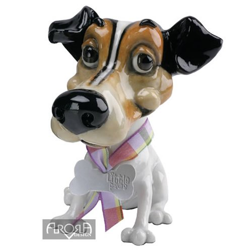 Pets with Personality Little Paws Figur Wilf * * Der Jack Russell Terrier Figur (Russell Terrier Jack Figur)