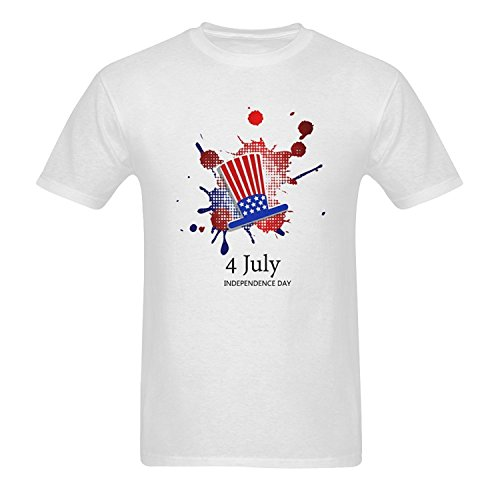 Men's Independence Day Pattern T Shirts