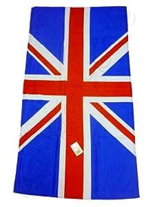 drap serviette bain drapeau anglais union jack. Black Bedroom Furniture Sets. Home Design Ideas