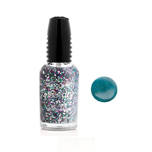 (3 Pack) WET N WILD Fastdry Nail Color - Teal of Fortune (DC)