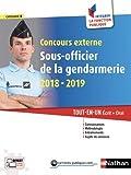 Concours externe Sous-officier de la gendarmerie 2018-2019. Tout en un écrit + oral
